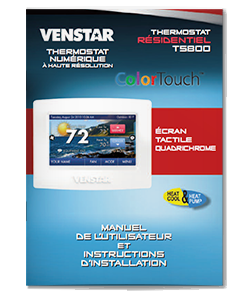 Climatisation Chauffage et Services Nor-Can inc guide Venstar